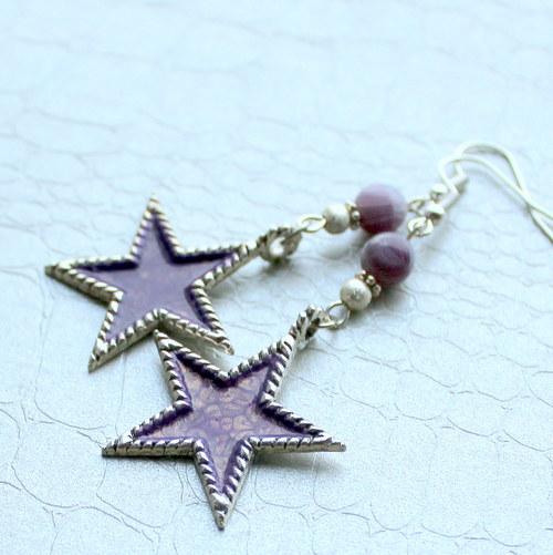 Hvězdičky - náušnice