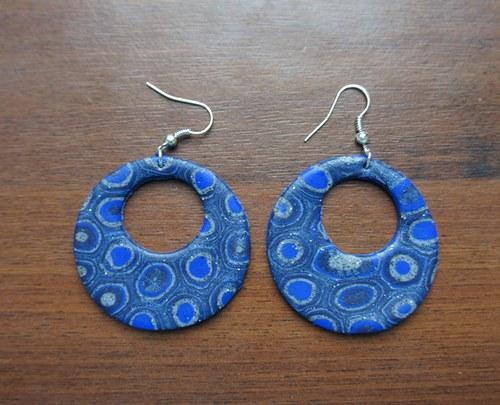 Modré kruhové