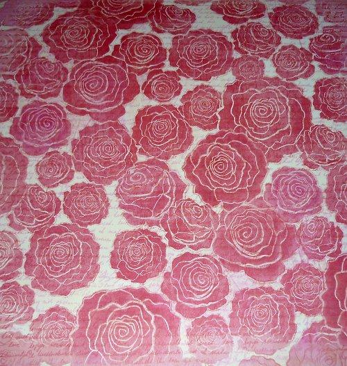 Papír Roses - kolekce Valentine