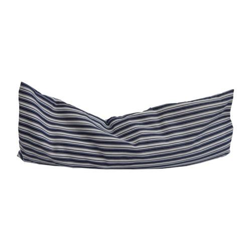 Nahřívací polštářek modré dvojité pruhy