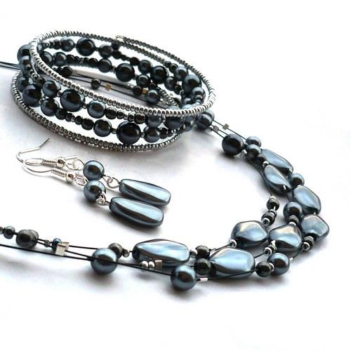 Žal - náhrdelník s náušnicemi