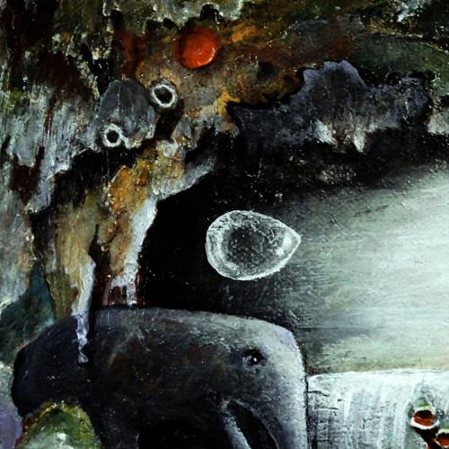 Obraz podivuhodné jeskyně 24 x 18 cm cm