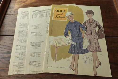 Mode und Schnitt 96/1962, móda, střihy!
