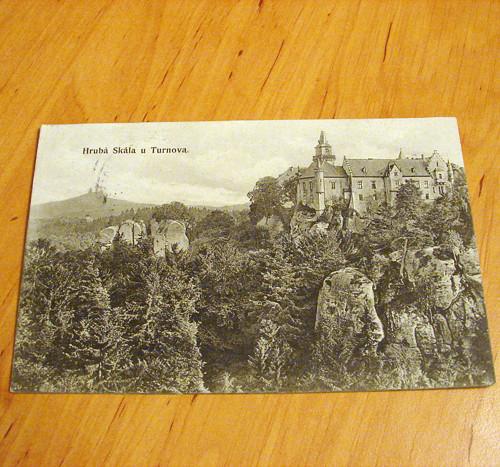 Hrubá Skála u Trutnova - pohlednice