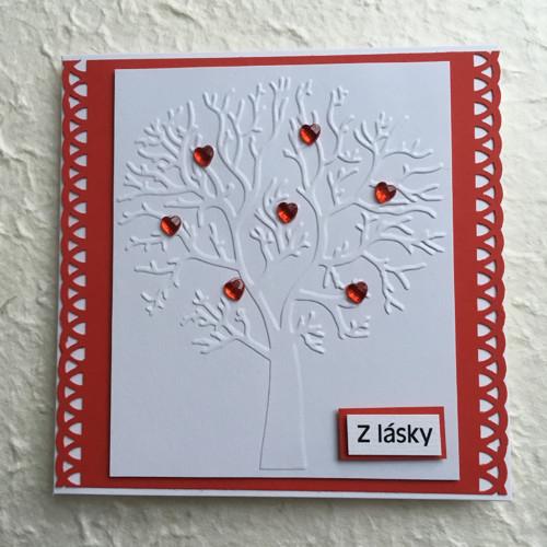 Blahopřání - strom lásky