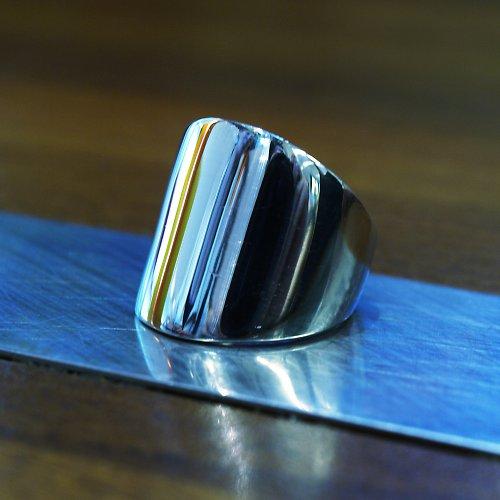 prsten leštěný