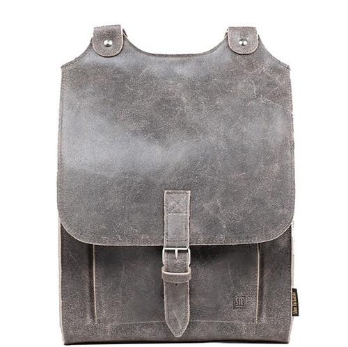 Kožený batoh šedý !!!AKCE!!!