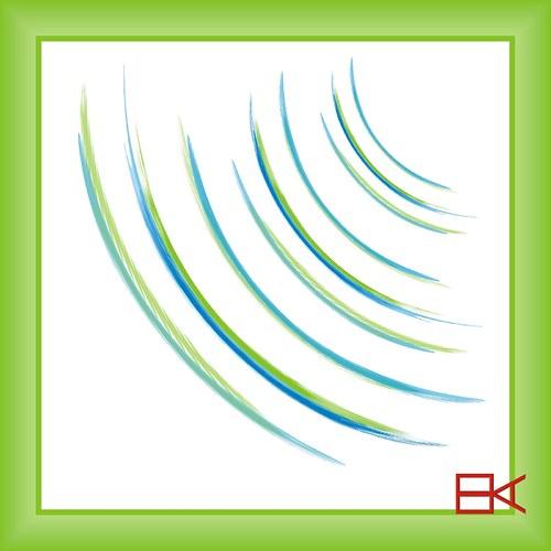 zelený závoj