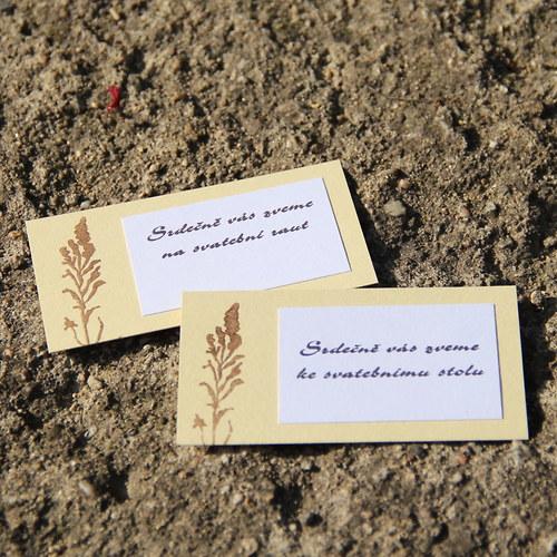 S luční trávou - pozvánky ke stolu