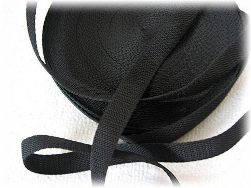 popruh černý-šíře 20 mm