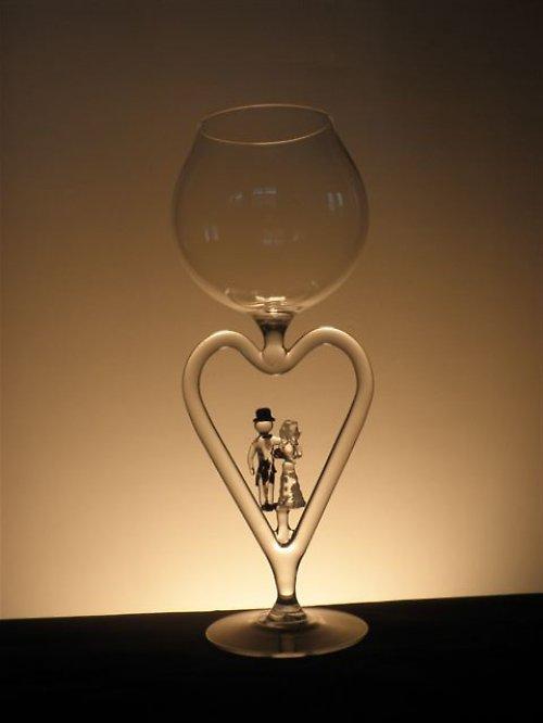 skleničky DÁREK pro svatebčany