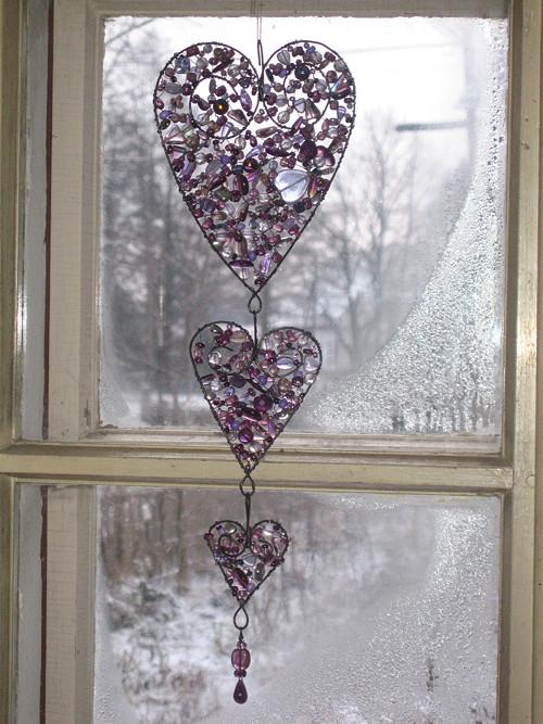 Trocha lásky - Tajemnost  (fialová, 40 cm)