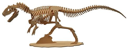 Dřevěná skládačka Allosaurus