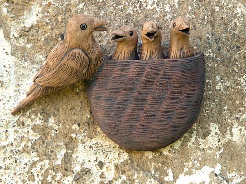 Hnízdo ptačí