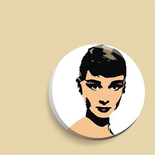 zrcátko - nevinná Audrey