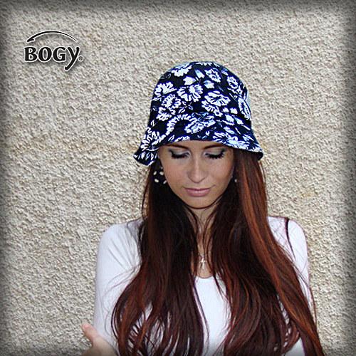 dámský plátěný klobouk Pampalíny květovaný   Zboží prodejce BOGY ... 0e9af27268