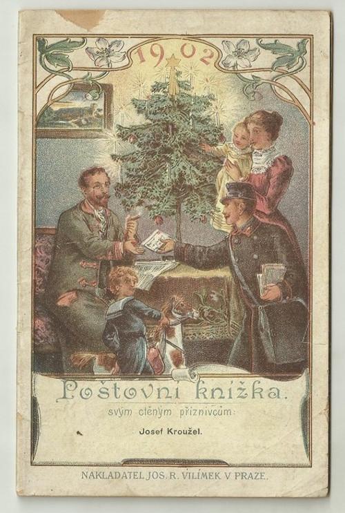 Poštovní knížka 1902