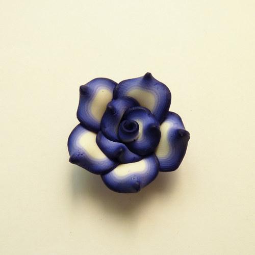 FIMO kytka - modrá