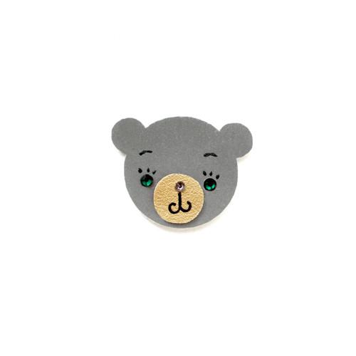 Reflexní brož medvídek Jonášek