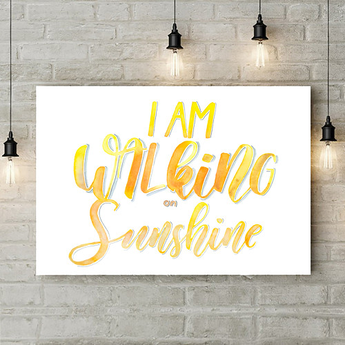 I\'m Walking On Sunshine (A4)