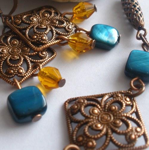 Vintage s perletí