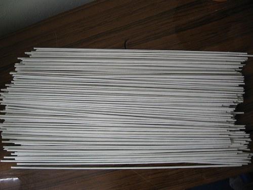 Ruličky,bílé,dlouhé 400ks