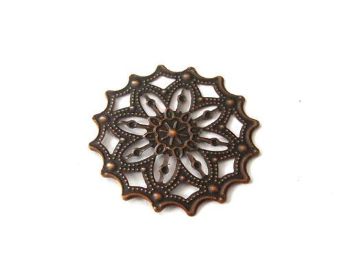 2902615/Filigránový ornament jemný, 1 ks