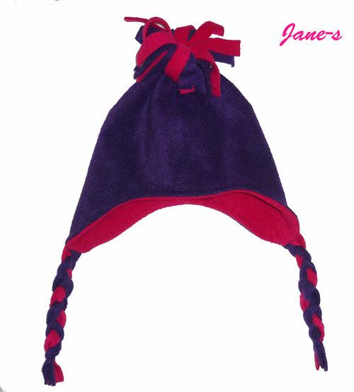 Fleece ušatá čepice