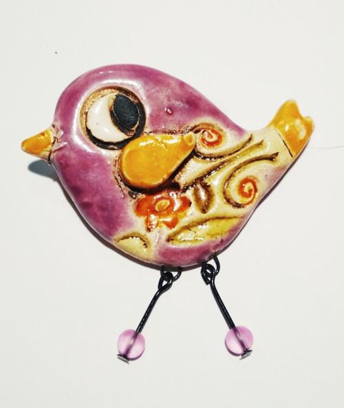 Ptáček do fialova