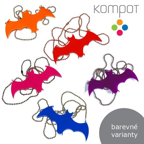 NETOPÝR na krk :: výběr z 9 barev