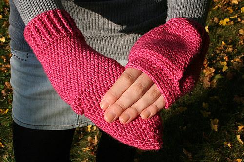 Růžové palčáky