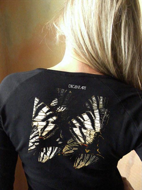 Dámské tričko ,,Motýli´´