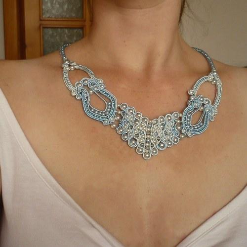 Na obláčku - náhrdelník