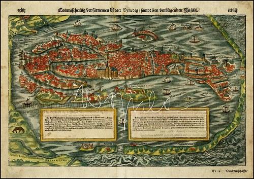 Evropská města v 16. stol.