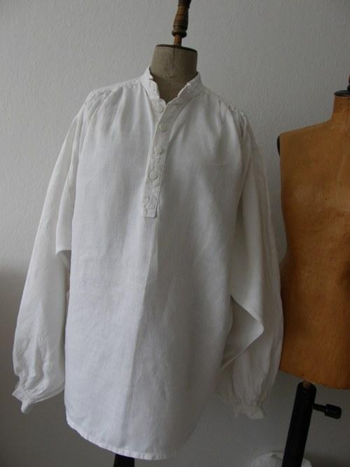 f52ea9cbec6 nádherná dobová košile lněná - hodně veliká   Zboží prodejce Tolaja ...