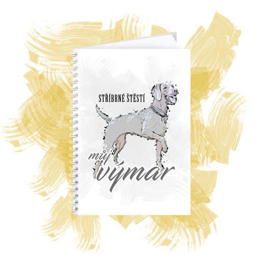 Zápisník s motivem - Výmar