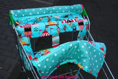 Cirkusové hniezdo do nákupného vozíka