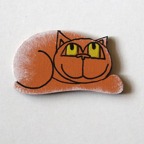 Magnetka střední - kočka