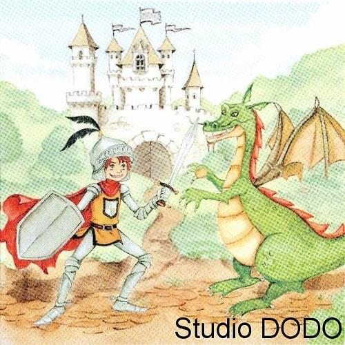 Ubrousek Princ a drak