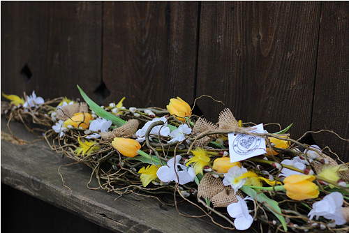 Jarní kokon žlutý