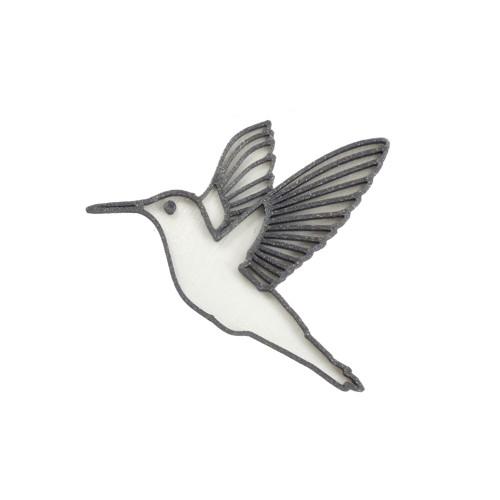 Kolibřík traffic white/vertigo grey