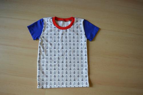 Dětské tričko námořnické