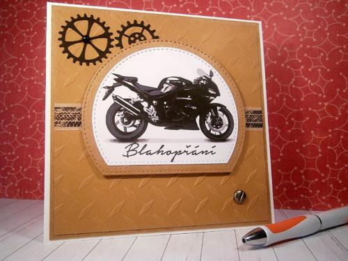 Přání - motorka