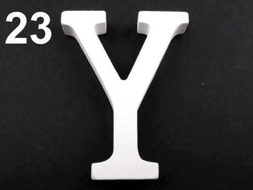 3D dekorace písmeno abecedy výška 8 cm
