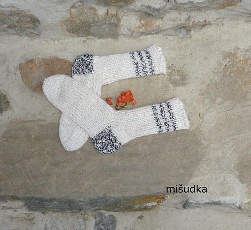 Ponožky jako od maminky -  dětské 28