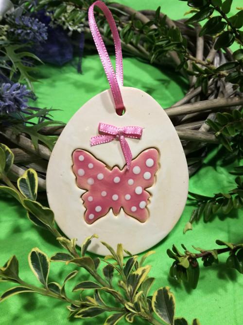 Vajíčko motýl - růžové