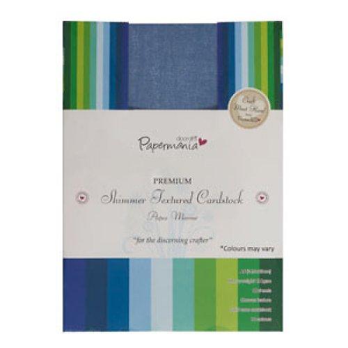 Třpytivé Textured Cardstock A5 - AQUA MARINE 30ks