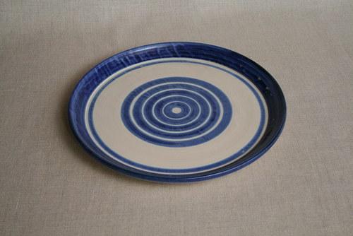 talíř-jídelní-modrý