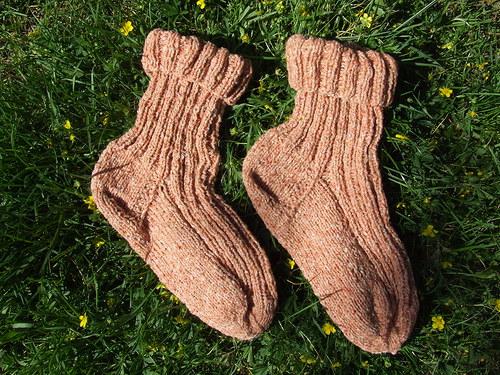 Ponožky meruňkové č.40-41