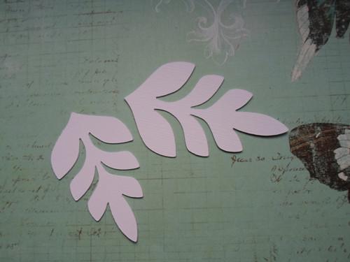 Ozdobný ornament2 ks - barva na výběr